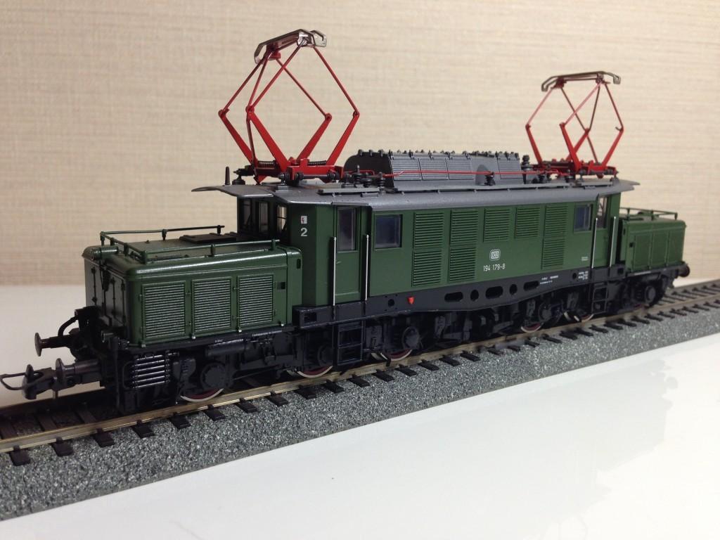 鉄道模型(HOゲージ)Roco DB 194 ドイツクロコダイル